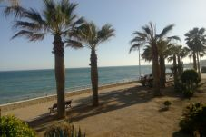 Beach front apartment in Nerja