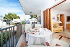 Apartment in Platja de Muro at 50 m from the beach