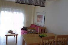 Beach front apartment in Vera playa